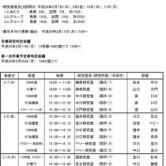 平成24年度卒業研究発表会・会場及び試問・審査日程の画像