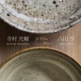 寺村光輔 八田亨 二人展の画像
