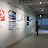 H27年度卒業研究 学外機関出展作品 1階ギャラリー展示の画像